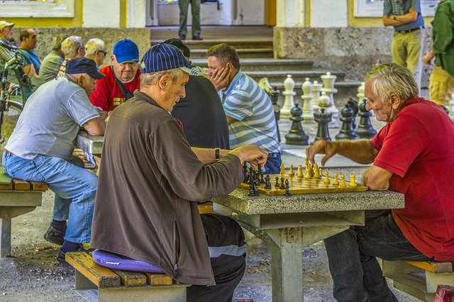 fun exercise games for elderly